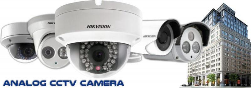 Hikvision Analog CCTV Camera
